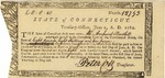 Statement of money owed to Mr. Amherst Bartlett, signed by Peter Colt.
