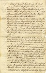 """Articles of Agreement of Partnership,"" a contract that forms a business partnership between Jonathan Dayton, Francis Childs, and Jonathan Hampton Lawrence. Elizabeth Town, New Jersey, 1796. No signatures, possibly a draft."