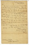 Letter from James Wilkinson to Simeon Knight authorizing payment of volunteers. January 5, 1813, New Orleans.