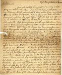 Letter from Richard Furman to Reverend John Rippon (?)