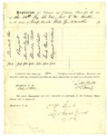 Requsition form signed by States Rights Gist