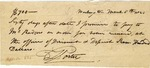David Porter promise to pay John Rodgers $700 sixty days after March 6, 1821.