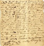 Petition of relief on a judgment, initialed by Francis Scott Key. Frederick, Maryland, 1804.