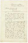 John C. Calhoun letter to William H. Rogers