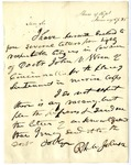 Letter from Richard M. Johnson enclosing several letters from citizens of Doctor John N. Wren of Cincinatti, dated January 27, 1836.