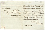 J.R. Poinsett letter in French