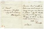 J.R. Poinsett letter in French