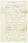 Louisa Catherine Johnson Adams poem