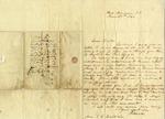 Patrick Calhoun Letter to his father John C. Calhoun, from Iowa Territory, June 29, 1844.