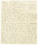 Letter from Jane Pierce, wife of Franklin Pierce, to her mother regarding family and social affairs. November 1840.