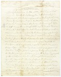 Anna Harrison letter, date unclear.