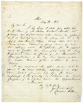 Letter of recommendation for Andrew Wallace Hunter written by Leonidas Polk . May 11, 1848.