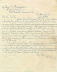 Robert E. Lee letter to Captain J.K.H. Mansfield of Fort Pulaski regarding a matter published in a circular to the Army Corps of Engineers. Fort Hamilton, N.Y., February 25, 1842.