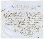 John B. Magruder orders the purchase of wagons, saddles, saddle blankets, and bridles. Virginia, July 15, 1861.