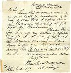 John B. Magruder letter to John Earle & Co.