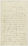 Letter from Matthew Fontaine Maury to M.G.L. Charles, January 15, 1861.