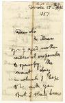 Letter from David Livingstone to E. Baines, Dundee, September 27, 1857.