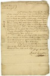 Letter from Robert Livingston to Messieurs Storke and Gainsborough of London, written March 19, 1734 from South Carolina.