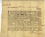 Order to choose juror for Grand Jury and Petit Jury, Worcester, Massachusetts, 1765.