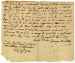 "Request by grand jury to Court of Sessions to order Treasurer to give the jurors their ""note upon interest"" in payment for their service, Worcester, Massachusetts, December 7, 1781."