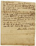 Worcester County Court of General Sessions document determining that a new jail should be built, June 10, 1784.