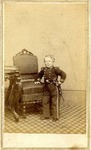 Carte-de-visite, full portrait of