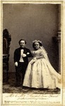 Carte-de-visite, full portrait of Mr. & Mrs.