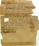 Oath to not provide liquor to slaves; liquor license. South Carolina, 1841.