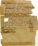 Liquor License, Barnwell District, South Carolina, August 21, 1841.