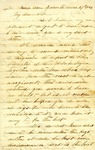Letter: W.E. Johnson to Anne Johnson, March 29, 1864