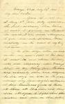 Letter: W.E. Johnson to W.E. Johnson, Sr., May 29, 1864