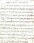 Letter: W.E. Johnson to Anne Johnson, July 24, 1864.