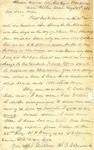 Letter: W.E. Johnson to Anne Johnson, August 29, 1864 by W. E. Johnson