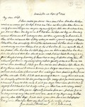 Letter: W.E. Johnson to Anne Johnson, September 18, 1864