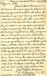 Letter: W.E. Johnson to Anne Johnson, September 21, 1864
