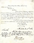 Letter: W.E. Johnson to H.W. Conner & Co., September 28, 1864