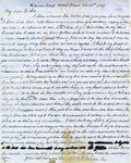Letter: W.E. Johnson to W.E. Johnson, Sr., October 16, 1864