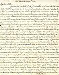Letter: W.E. Johnson to Anne Johnson, November 6, 1864