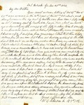 Letter: W.E. Johnson to W.E. Johnson, Sr., November 23, 1864