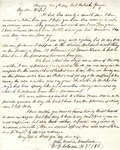 Letter: W.E. Johnson to Anne Johnson, December 4, 1864