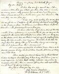 Letter: W.E. Johnson to Anne Johnson, December 4, 1864