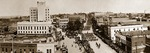 Panoramic photograph of 3rd Liberty Loan Parade, 27th Division U.S. Army, Spartanburg, S.C., 1918. by W. J. Armstrong