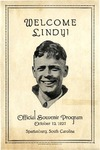 Welcome, Lindy: Official Souvenir Program, October 12, 1927