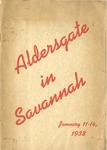 Aldersgate in Savannah by Methodist Episcopal Church, South. General Missionary Council