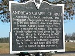 Andrews Chapel United Methodist Church, Summerton by James A. Neal